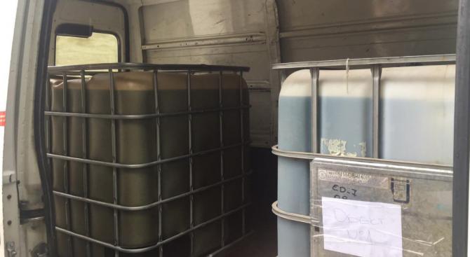 Митничари спипаха 15 тона нелегално гориво