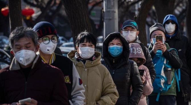 Вдигат нова фабрика за маски за шест дни в Пекин
