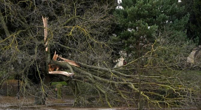 Бурята Денис взе четири жертви във Великобритания