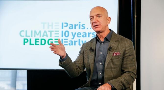 Джеф Безос дава 10 милиарда за борба с климатичните промени