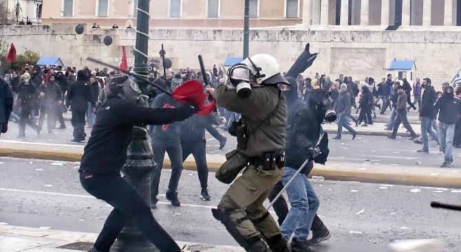 Стачни действия блокират Атина
