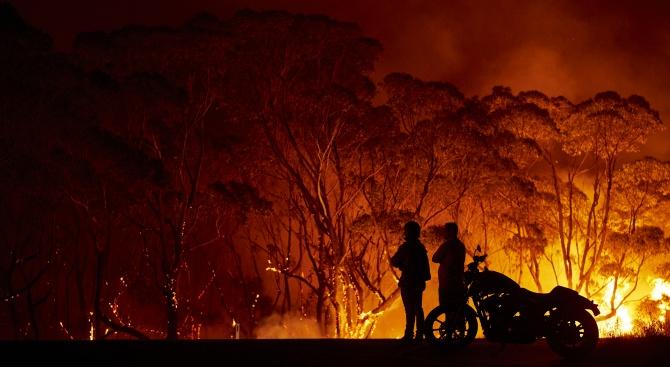 75% от австралийците са били засегнати от пожарите в страната