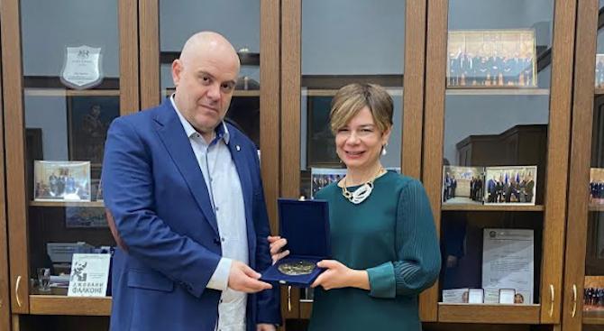 Иван Гешев се срещна с посланика на Република Турция Айлин Секизкьок