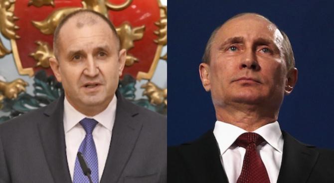 Радев се чул с Путин, отива в Москва за тържествата за 9 май