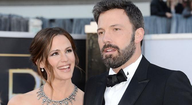 Бен Афлек: Разводът с Дженифър Гарнър е най-голямата болка в живота ми