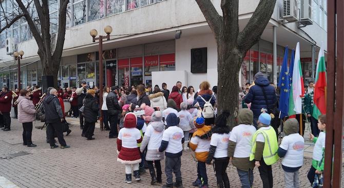 С поклонение пред Васил Левски в Търговище почетоха 147-та година от гибелта на Апостола
