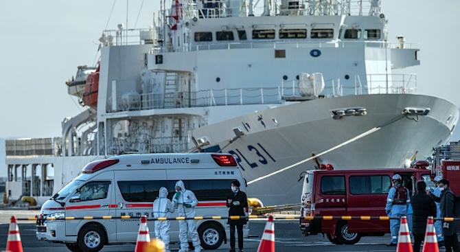 """Втори румънец е заразен с коронавирус на круизния кораб """"Даймънд принсес"""""""