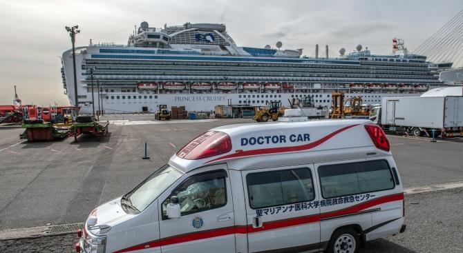 """Двама болни от коронавируса пасажери от кораба """"Даймънд принсес"""" починаха"""