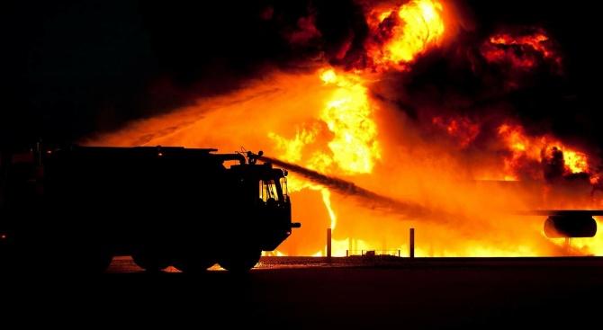 Труп след пожар в Стамболийски
