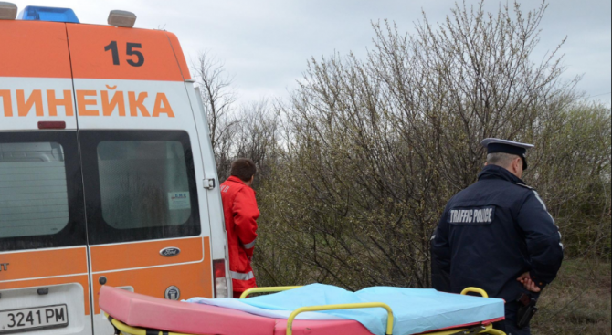 Злополука с теглене на дървени трупи в Смолянско: Мъж е ранен