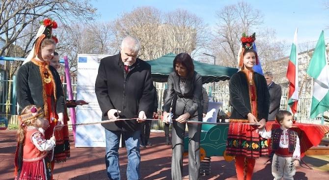 Още едно детско заведение в Разград е обновено по проект на общината
