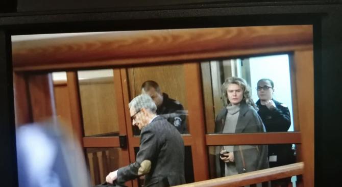 Жената на Божков на свобода срещу 1,5 млн. лева гаранция