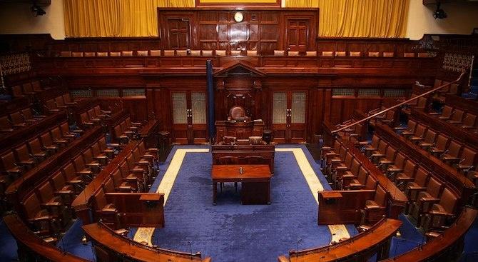 Ирландският парламент се събра на първото си заседание