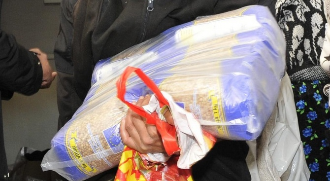 Голяма част от българите не са си взели хранителните помощи