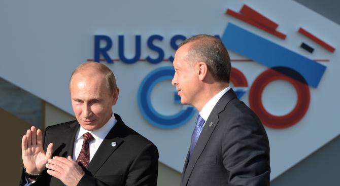 Путин и Ердоган обсъдиха по телефона Сирия и Либия