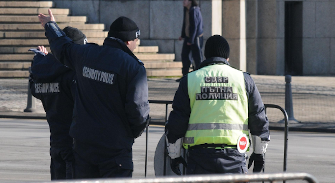 Столичните полицаи ще охраняват няколко събития днес