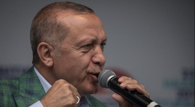Ердоган: Турция ще предприеме по-решителни действия в Сирия