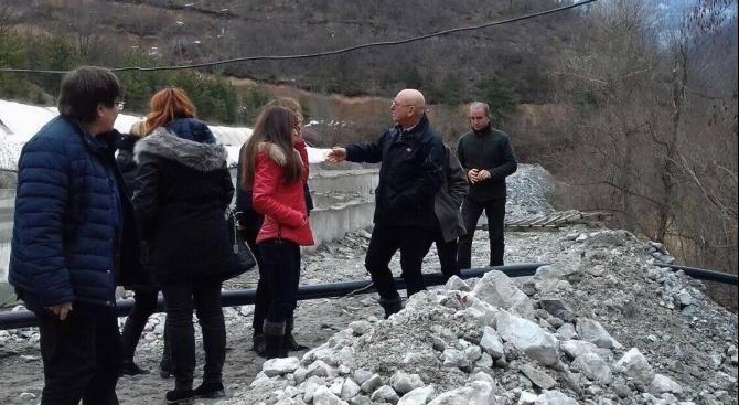 Спешна проверка в рудника в Лъки след открит цианид в реки