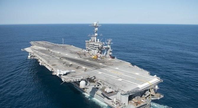 Американски военен кораб влезе в Черно море, руският флот го следи