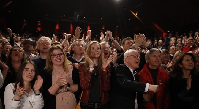 Социалдемократите печелят изборите в германската провинция Хамбург