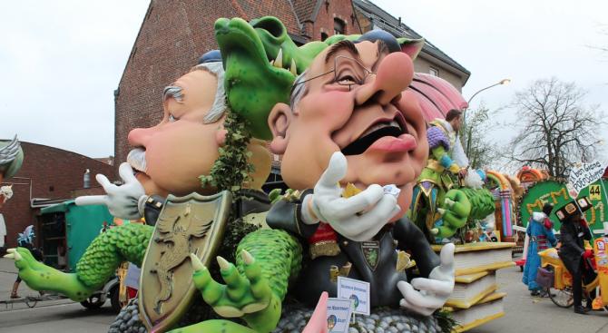 Белгийски град не отмени традиционен карнавал въпреки исканията на Израел