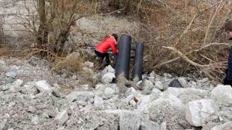 МОСВ разкри официална информация за водните проби, взети от незаконната тръба