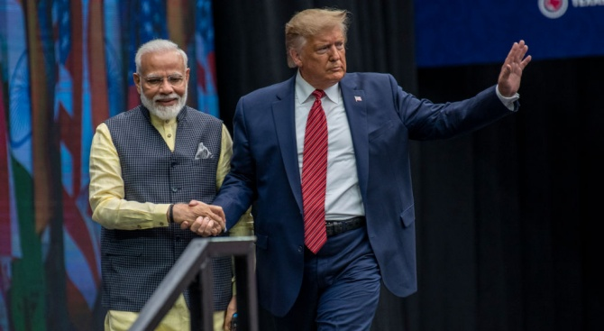 Доналд Тръмп се срещна с индийския премиер Нарендра Моди