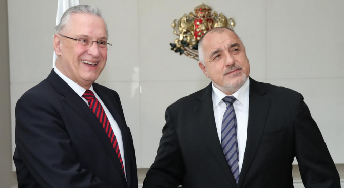 Борисов се срещна с държавния министър на вътрешните работи, спорта и интеграцията на Свободната държава Бавария