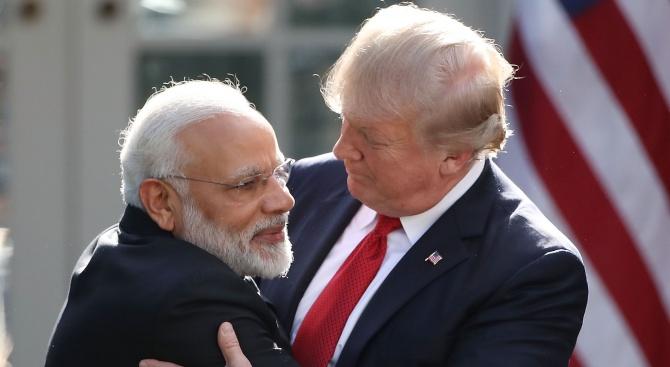 Доналд Тръмп: Искаме да засилим връзки с Индия в сферата на отбраната