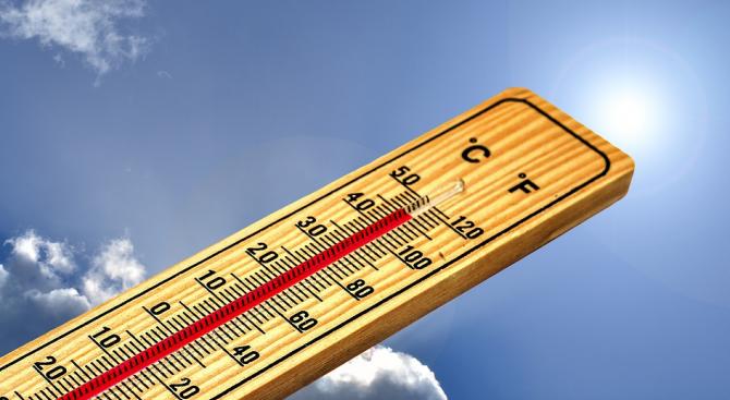 В Хасково е отчетен абсолютен температурен рекорд