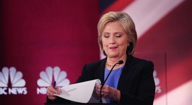 Хилари Клинтън: Доналд Тръмп е опасност за демокрацията