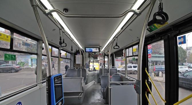 Автобусът ни казва на какъв транспорт може да се прехвърлим