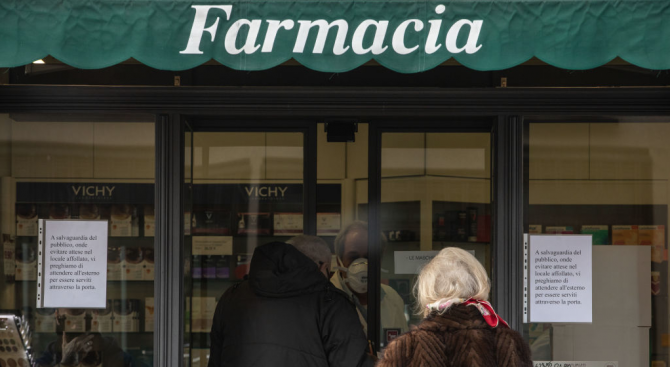 Първи случай на заразен с коронавирус в Южна Италия