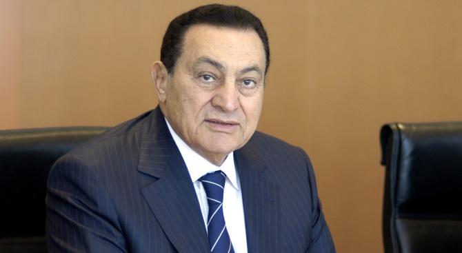 Починал е Хосни Мубарак