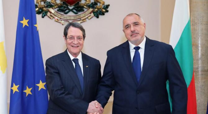 Борисов и кипърският президент обсъдиха коронавируса и енергийните проекти