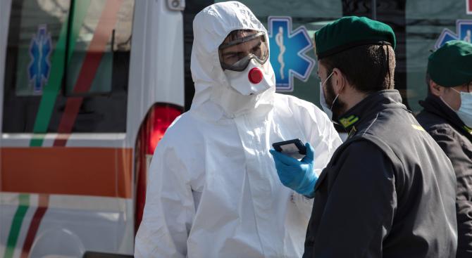 Броят на заразените с коронавирус в Италия достигна 283 души