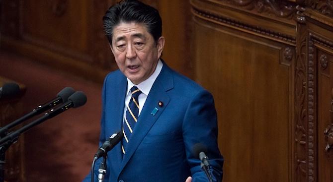 Шиндзо Абе призова за отмяна на големи прояви в Япония заради коронавируса