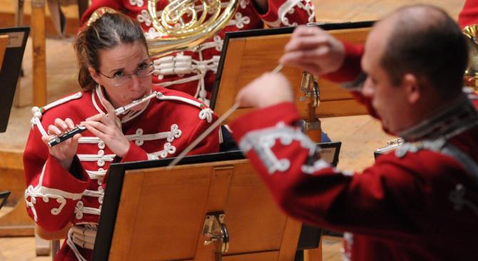 Съвместният концерт на Гвардейския представителен духов оркестър и Софийската филхармония се отменя