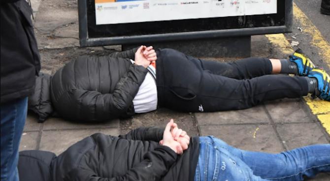 Полицейска операция в Пловдивско: 15 души са арестувани