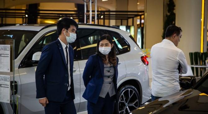 Спад при продажбите на автомобили в Китай с близо 19% през януари