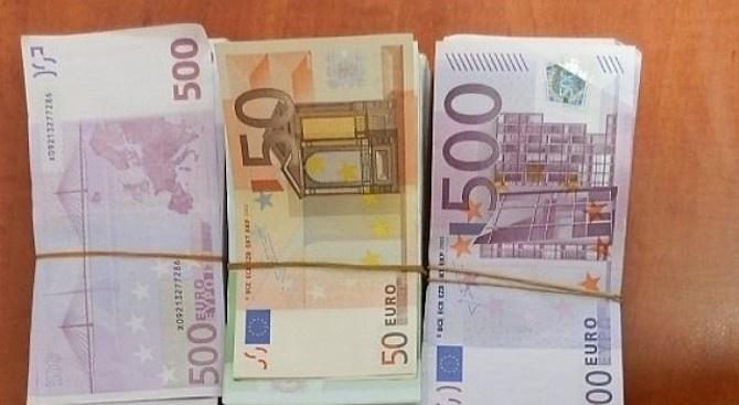 Спипаха грузинец снедекларирани 100 000 евро на ГКПП Дунав мост 2