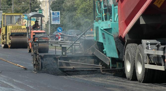 В Пловдив преасфалтират основен булевард