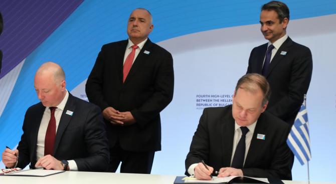Вижте какво се договориха Росен Желязков и министърът на инфраструктурата и транспорта на Гърция