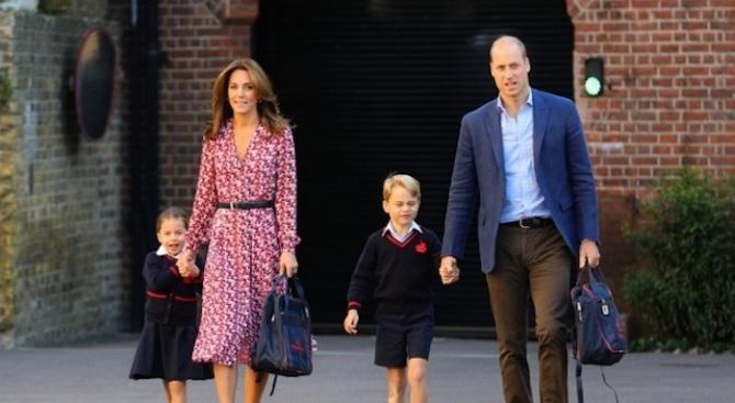 Коронавирус в училището на принц Джордж и принцеса Шарлот?