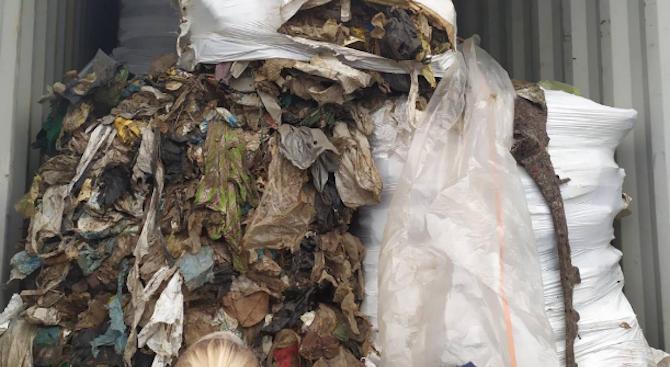 Разбиха частен гараж с незаконно складирани отпадъци