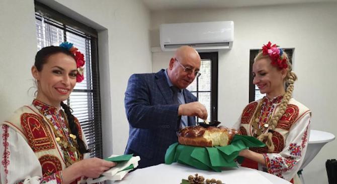 Емил Димитров даде символично начало на изграждането на компостираща инсталация край Враца