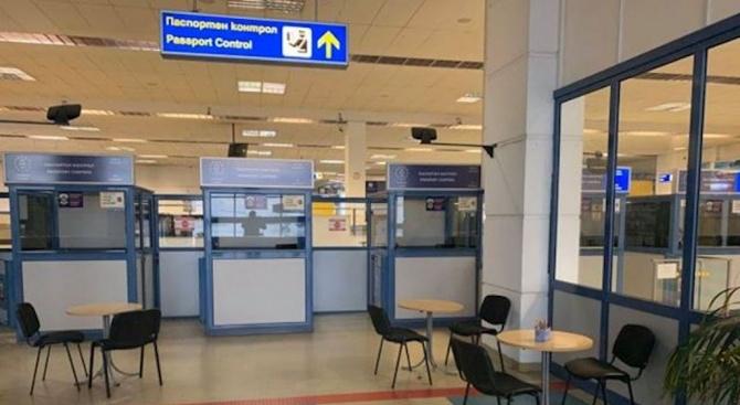 Отделен салон за пътниците, пристигащи на Летище София от рискови дестинации