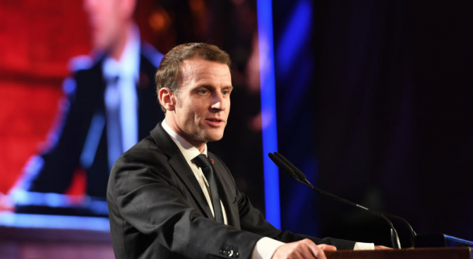 Френският президент Еманюел Макрон заяви, че Франция няма да затвори