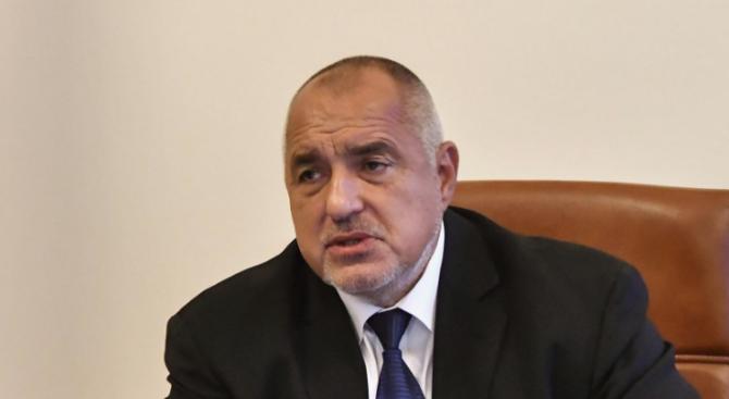 Премиерът Бойко Борисовизрази скръбта си по загубата наначалника на отбраната