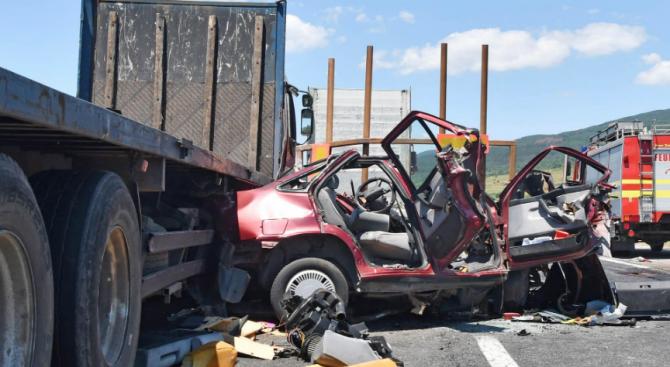 Един човек е пострадал при катастрофата на пътя Разград-Исперих